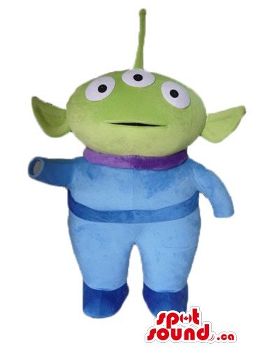 Green (Adult Toy Story Alien Costumes)