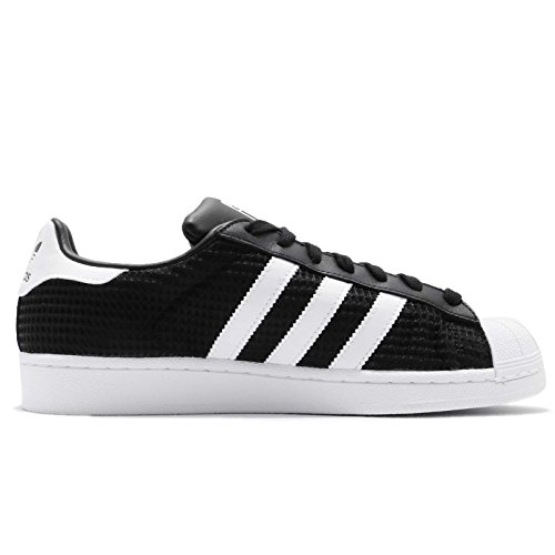 Adidas Mens Superstar, Core Black / Footwear White / Cblack, 11 M Us
