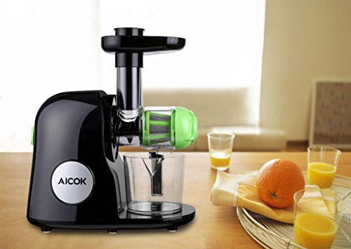 Aicok Juicer Slow Masticating Juicer Extractor Cold Press Juicer : Aicok Slow Masticating Juicer Extractor, Cold Press Juicer ...