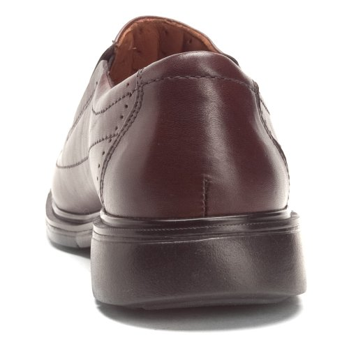 Clarks Unstructured Mens Un.Sheridan Slip On Dark Brown Leather coBlJTe