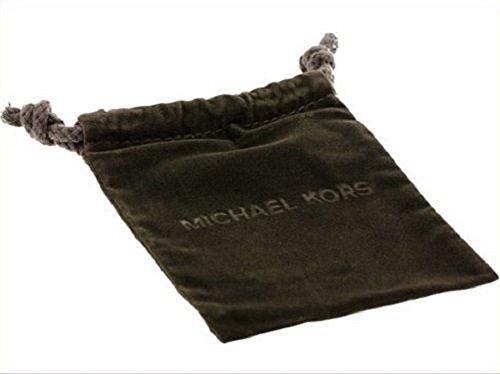 Michael Kors Motif Padlock Ring Gold W/Crystal Pave Size 7