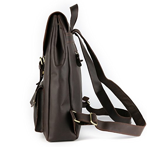 JOYIR - Bolso bandolera  Hombre marrón marrón Size:32L x 42H x 10D inch