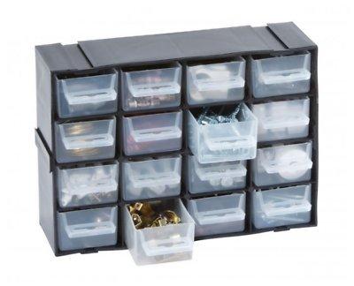 Small / Large Drawer Storage Cabinet Workshop Metal Parts Bin Component Craft Unit (16 Drawer  sc 1 st  Amazon UK & Small / Large Drawer Storage Cabinet Workshop Metal Parts Bin ...