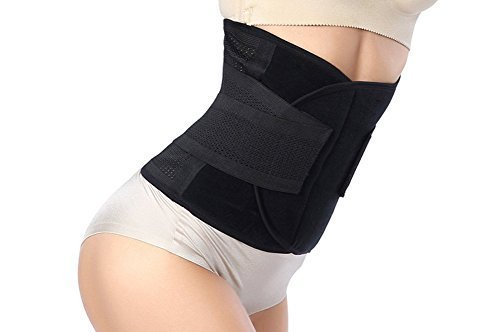 Waist Trimmer Belt-Postpartum Postnatal Recoery Support Girdle Belt Post Pregnancy After Birth Special Belly,Fat Burning Lost Weight Slimming Belt, Tummy Triner Band Abdomen Abdominal Binder Belly by Goege (Image #3)