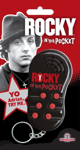Rocky - In Your Pocket Talking Voice Keychain