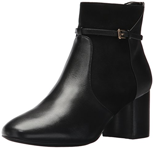 Cole Haan Women's Paulina Grand Bootie,Black Leather,8 B US