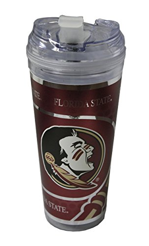 Florida State Seminoles Insulated Bottle (Florida State Seminoles 24oz Double Wall Acrylic Travel Mug)