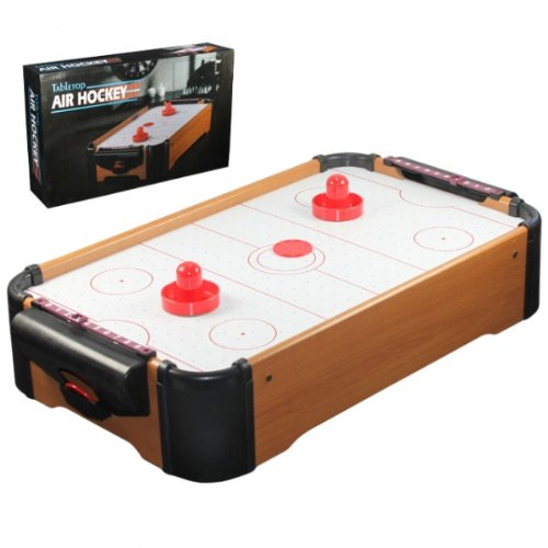 Air Hockey Tisch Platte inkl 2 Schläger Pusher Tabletop Airhockey NEU OVP sonstige