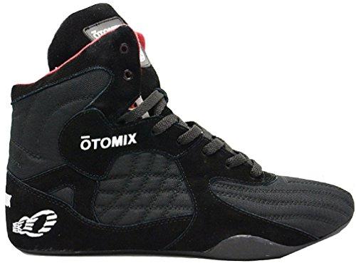 Otomix Stingray Évasion Musculation Haltérophilie Mma Chaussure De Boxe Noir