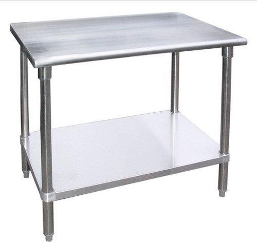 WORKTABLE Food Prep Workt able Restaurant Supply Stainless Steel (24'' X 24'') by AmGood