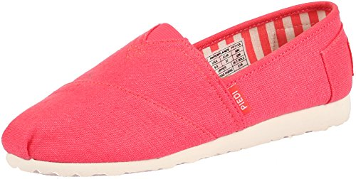 Paperplanes-1196 Unisex Moda Casual Low Top Easy Slip-ons Scarpe 1196-rosa