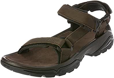 Teva Men's Terra Fi 4 Leather Outdoor Shoes, Turkish Coffee, EU 41