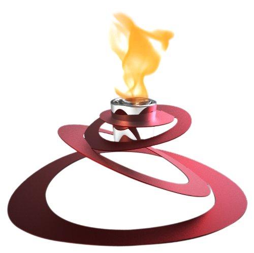 Decorpro 10114 Ovia Fireburner, Red