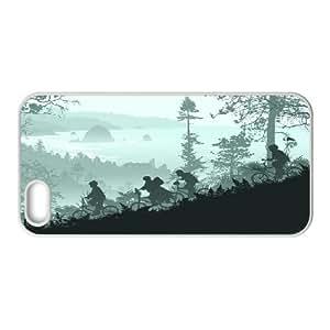 {Art Series} IPhone 5,5S Cases Goonies Never Say Die, Case Kweet - White