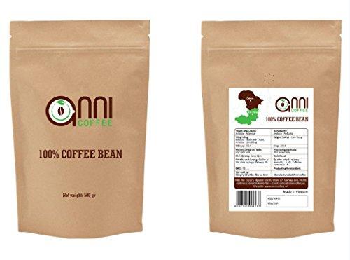 anni COFFEE MEDIUM Roast WHOLE BEAN Strong Vietnamese Coffee Premium Specialty Coffee(18 oz)