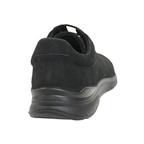 Hombre 2001 negro Zapatillas Para Negro Irving Ecco BRqtwYx
