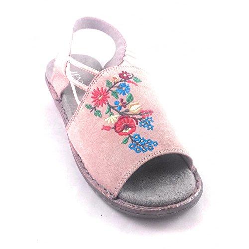 Jenny Damen Sandalen Pink Rose