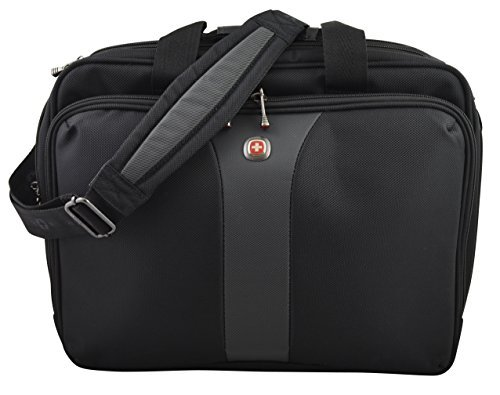SwissGear Wenger 15.6-Inch Legacy Top Load Double Gusset Case for Notebook (Organizer Notebook Case Top Loading)
