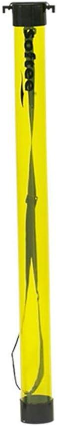 Tubo RECOGEPELOTAS Softee Tenis Y Padel - 15 Pelotas - Color Amarillo Fluor