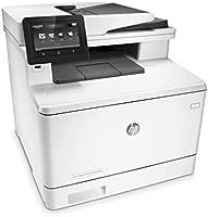 HP Color LaserJet Pro MFP M477fdw - Impresora láser a color (A4, hasta 27 ppm, 750 a 4000 páginas al mes, USB 2.0 de alta velocidad fácil acceso, Red ...