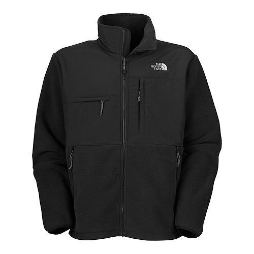 The North Face Men's Full Zip Denali Jacket, Recycled TNF Black, (Recycled Denali Jacket)