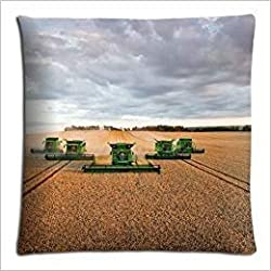 Doormat bags 18x18 45x45cm throw pillow cases covers Cotton and Polyester Fabric unique john deere famous top?brand logo