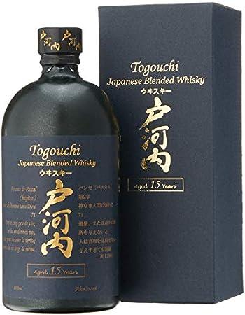 Togouchi 15 Años - Japanese Blended Whisky, 700 ml