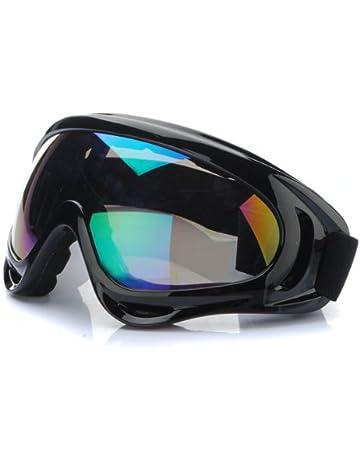 SYG(TM)Lunettes Moto Motocross Goggle Anti-UV Brouillard CE T301 Pour Honda 974df3da2e2c