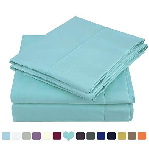 bed sheets set brushed microfiber