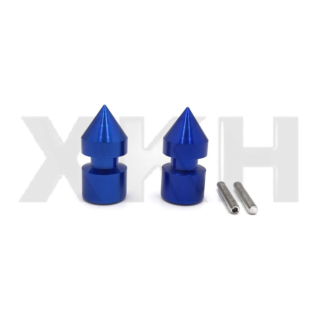 SMT- Replacement of Spike Swingarm Spools 6mm Thread For Yamaha YZF-R1 R6 98-13 YZF600R 05-07 Blue
