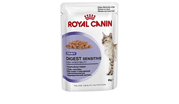 Royal CANIN digest Sensitive los Restos Bolsa 12 Multi Pack, 4 unidades (48 x 85 g): Amazon.es: Productos para mascotas