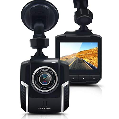 GJLR Car Driving Recorder Hidden 1080p HD Night Vision Recorder 170° Wide Angle ()