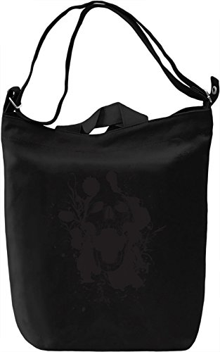 Skull ink Borsa Giornaliera Canvas Canvas Day Bag| 100% Premium Cotton Canvas| DTG Printing|