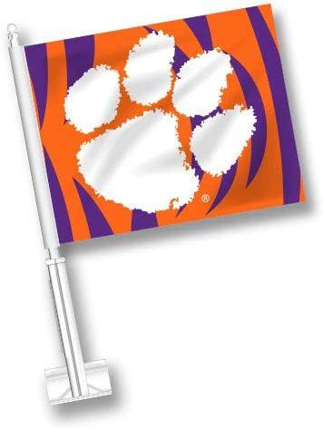 NCAA 3d Mascot Car Flag
