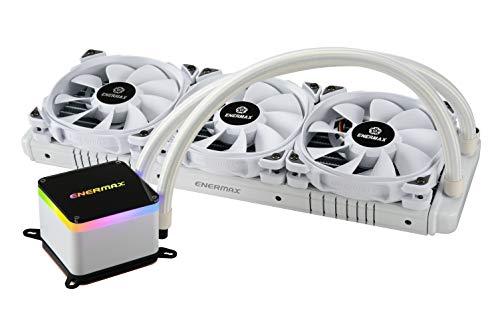 Enermax LIQTECH II 360 White Intel/AMD AIO Liquid CPU Cooler (ELC-LTTO360-TBP-W)