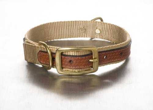 Woofwerks Cooper Overlay Collar, 3/4-Inch by 16-Inch, Sandblast