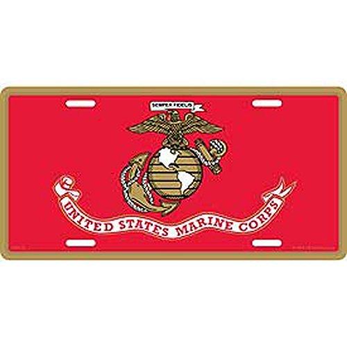 US Marine Corps Logo License Plate