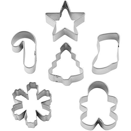Christmas Mini Cutter Set 6 Piece Wreath