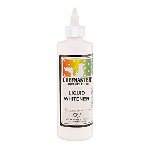 Chefmaster by US Cake Supply 10.5-Ounce Liquid Whitener - 16-Ounce Net by (10.5 Ounce Liquid)