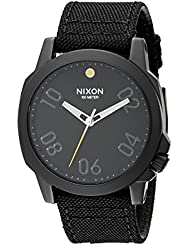 Nixon Unisex Ranger 45 Nylon All Black Watch