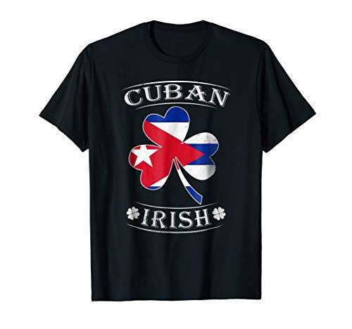 Cuban Irish Shirt Flag of Cuba