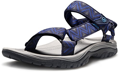 Atika Menns Sport Sandaler Maya Sti Utendørs Vann Sko M110 / M111 (true Til Størrelse) På-m110-nr