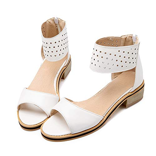 Bianco Aimint White Ballerine Donna EYR00121 EU 35 qRz0R8
