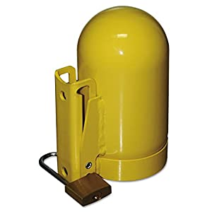 Saf-T-Cart SC2FNNP-12 Cylinder Cap, Low Pressure, 3 1/2″, Steel, Yellow