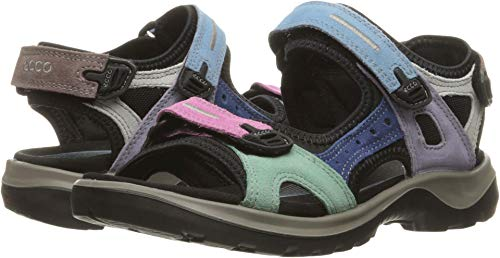 ECCO Women's Yucatan Sandal, Multicolor Pastel, 35 EU / 4-4.5 M US -