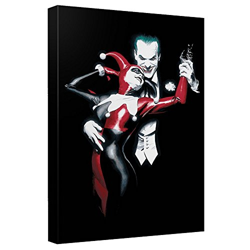 "Joker and Harley Quinn Canvas Wall (12"" x 16"")"
