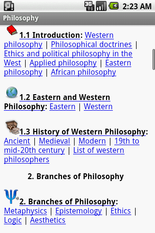 encyclopedia of philosophy mobilereference