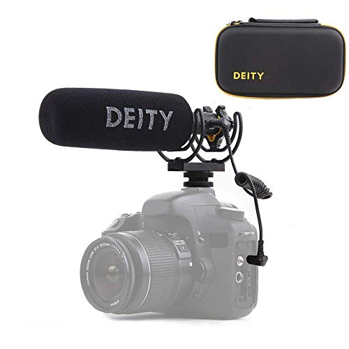 Supercardioid Shotgun - Deity V-Mic D3 Pro Super-Cardioid Directional Shotgun Microphone with Rycote Shockmount for DSLRs, Camcorders, Smartphones, Tablets, Handy Recorders, Laptop and Bodypack Transmitters