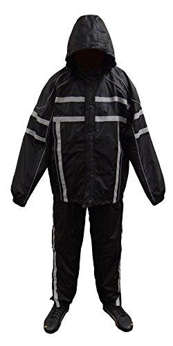 NexGen Men's Rain Suit (Black, Medium)