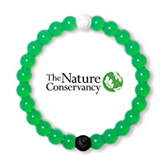 Each Lokai is infused with elements from the highest and lowest points on earth. The white bead carries water from Mount Everest and the black bead carries mud from the Dead Sea. These extremes are a reminder to seek balance on the journey, s...